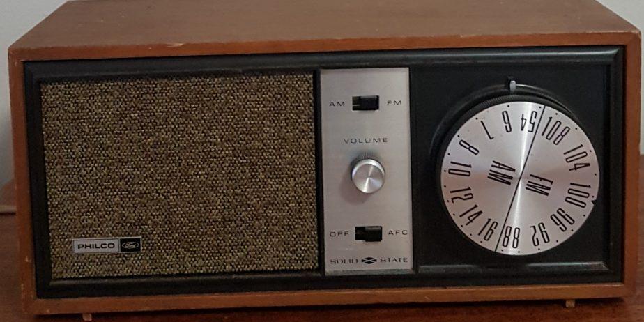 Philco Radio Front